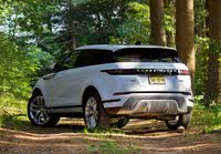 Rear 3/4 profile of the 2020 Land Rover Range Rover Evoque., gallery_worthy