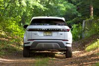 Rear profile of the 2020 Land Rover Range Rover Evoque., exterior, gallery_worthy