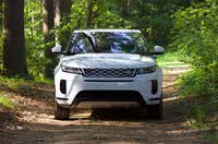Front profile of the 2020 Land Rover Range Rover Evoque., exterior, gallery_worthy
