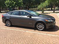 2017 Ford Fusion Hybrid Overview