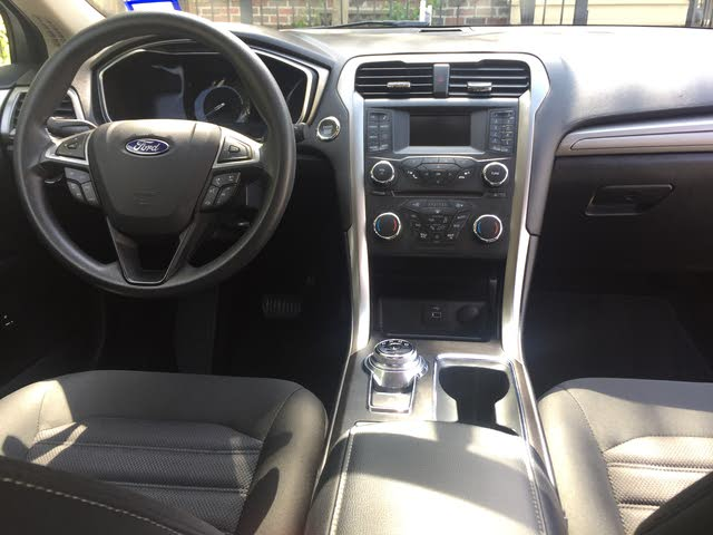 Picture of 2017 Ford Fusion Hybrid SE FWD, interior, gallery_worthy
