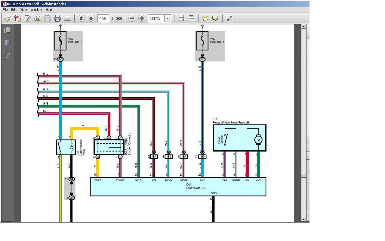 2003 Tundra Power Window Wiring Diagram Wiring Diagram Important Important Lastanzadeltempo It