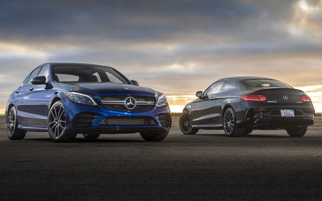 2020 Mercedes-AMG C43 Sedan and Coupe