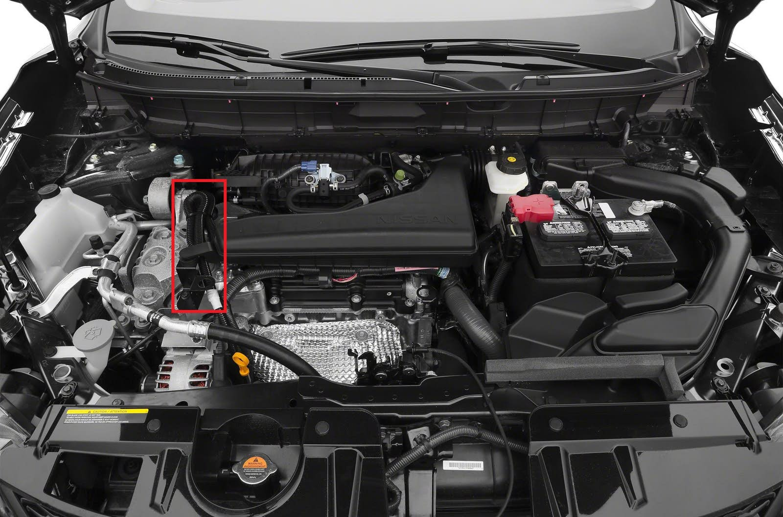 Nissan Rogue Questions - Wiring in Engine Room - CarGurus