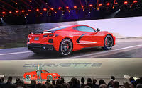 2020 Chevrolet Corvette Stingray Z51 Torch Red Rear View, exterior, gallery_worthy