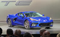 2020 Chevrolet Corvette Stingray Rapid Blue Front View, exterior, gallery_worthy