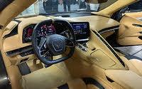 2020 Chevrolet Corvette Stingray Natural Tan Interior and Dashboard, interior, gallery_worthy
