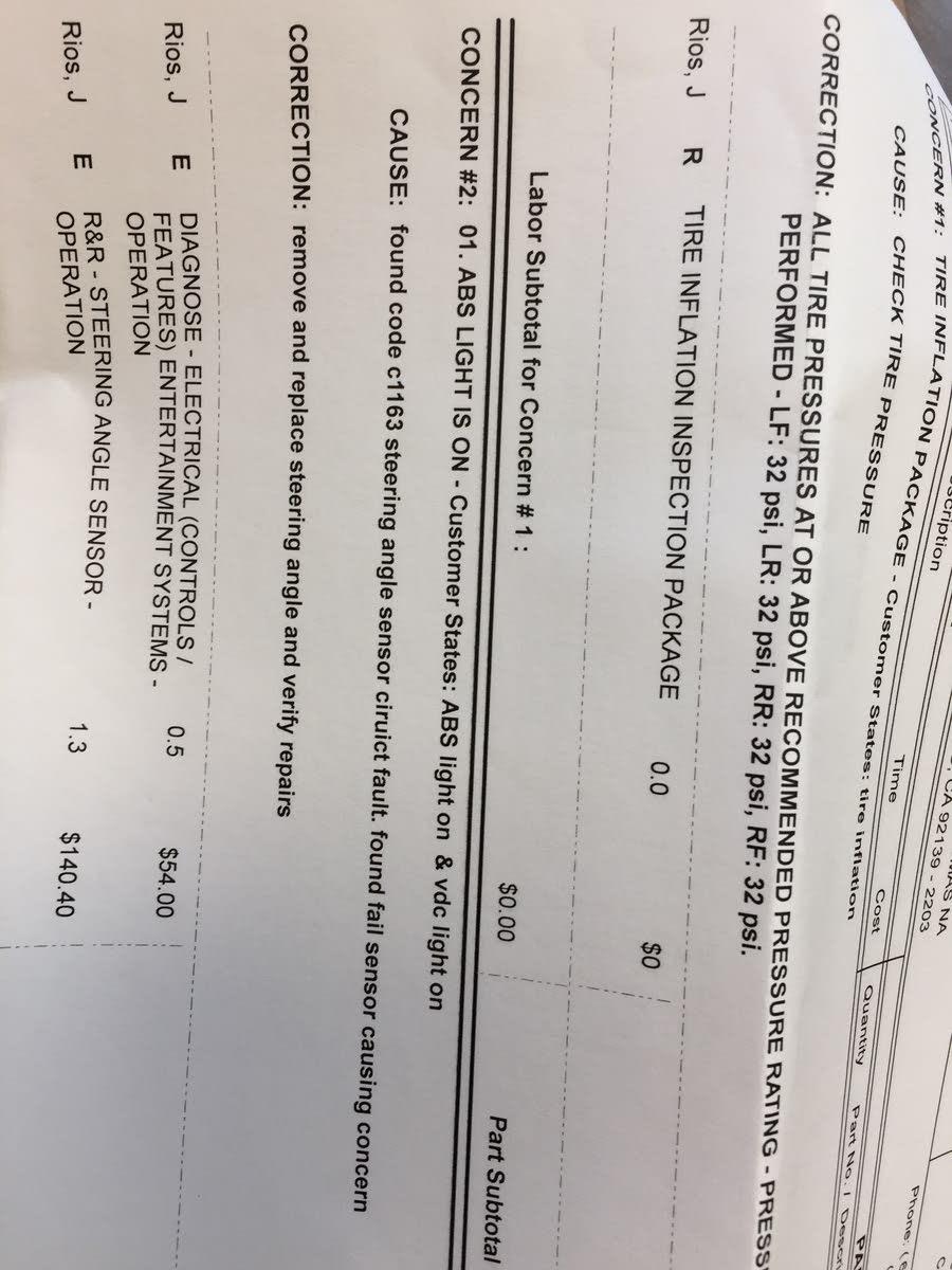 Nissan Pathfinder Questions - Brake ABS VDC off Slip lights