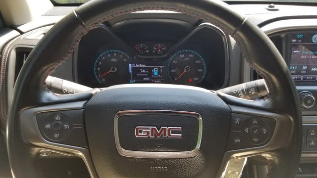 Picture of 2017 GMC Canyon SLE Crew Cab 4WD, interior, gallery_worthy