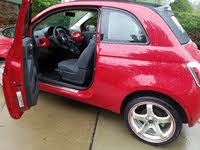 Picture of 2012 FIAT 500 Lounge Convertible, interior, gallery_worthy