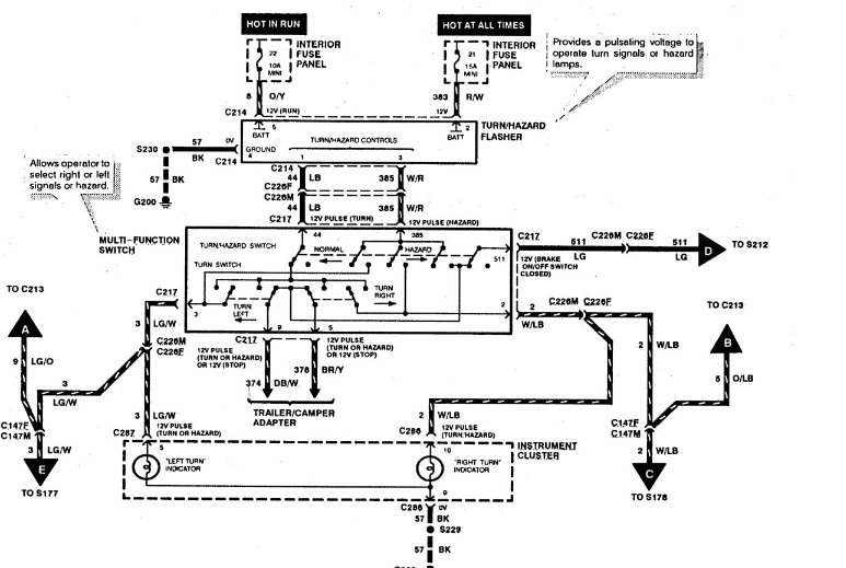 97 Explorer Wiring Diagram