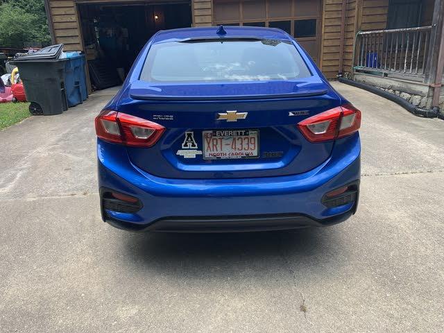 Picture of 2018 Chevrolet Cruze Premier Sedan FWD, exterior, gallery_worthy