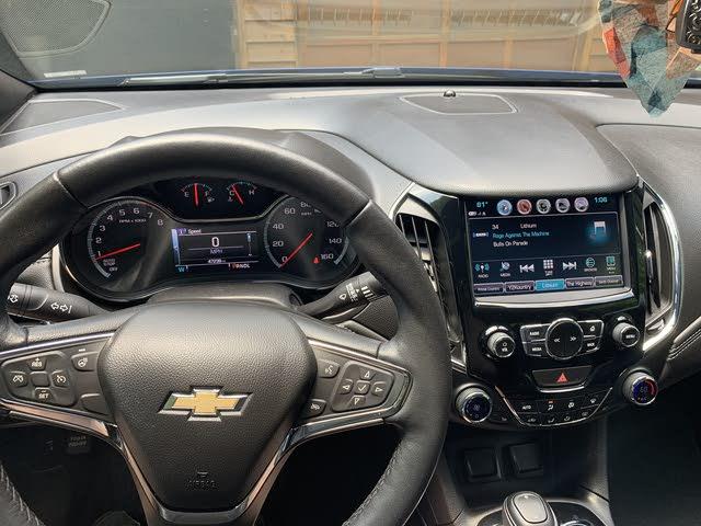 Picture of 2018 Chevrolet Cruze Premier Sedan FWD, interior, gallery_worthy