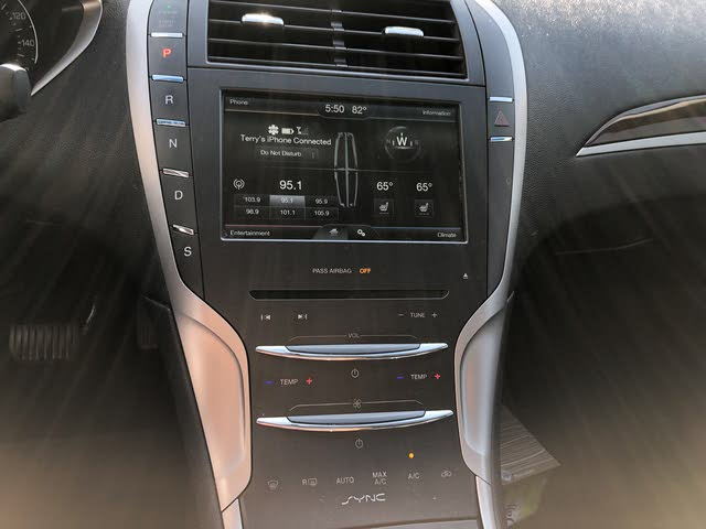 Picture of 2016 Lincoln MKZ Black Label FWD, interior, gallery_worthy