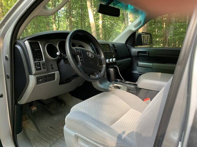 Picture of 2010 Toyota Tundra Limited CrewMax FFV 5.7L 4WD, interior, gallery_worthy