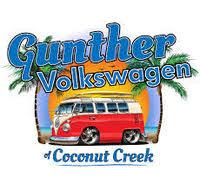 Gunther Volkswagen of Coconut Creek logo