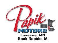 Papik Motors Rock Rapids logo