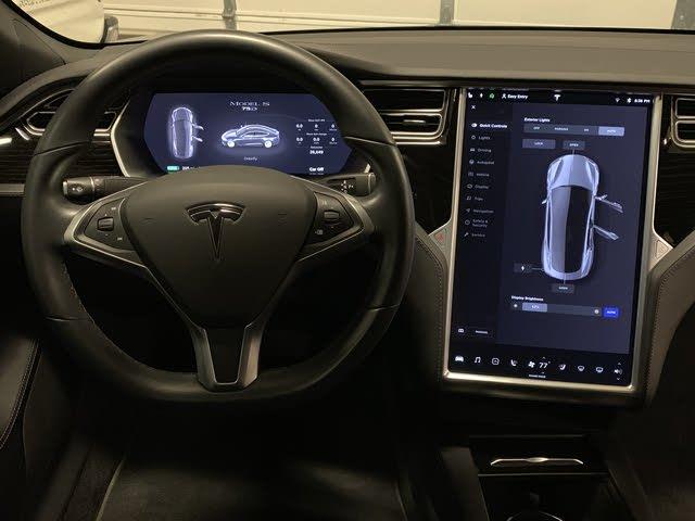 Tesla Model S Interior >> 2017 Tesla Model S Interior Pictures Cargurus
