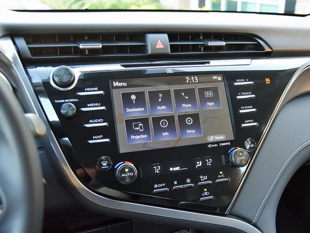 2019 Toyota Camry XSE V6 FWD, 2019 Toyota Camry XSE Entune 3.0 Main Menu Screen, interior, gallery_worthy