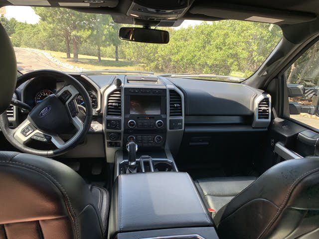 2018 Ford F150 Interior >> 2018 Ford F 150 Interior Pictures Cargurus