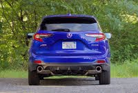 Rear profile of the 2020 Acura RDX., gallery_worthy
