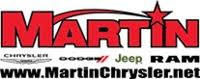 Martin Chrysler Dodge Jeep RAM logo