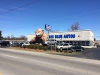 Big Blue Autos logo