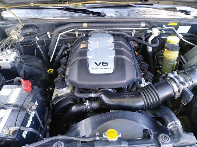 Picture of 2001 Honda Passport 4 Dr EX 4WD SUV, engine, gallery_worthy