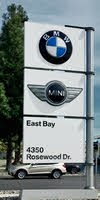 East Bay BMW MINI logo