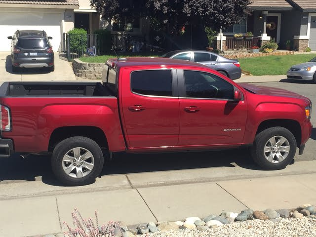 Picture of 2017 GMC Canyon SLE Crew Cab, exterior, gallery_worthy