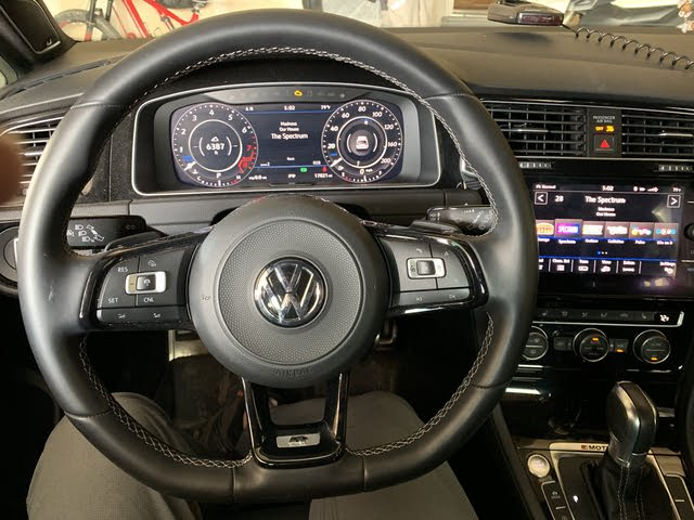 Picture of 2018 Volkswagen Golf R 4-Door AWD with DCC and Navigation, interior, gallery_worthy