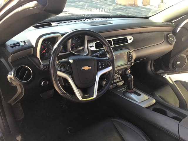 Picture of 2015 Chevrolet Camaro 2SS Convertible RWD, interior, gallery_worthy