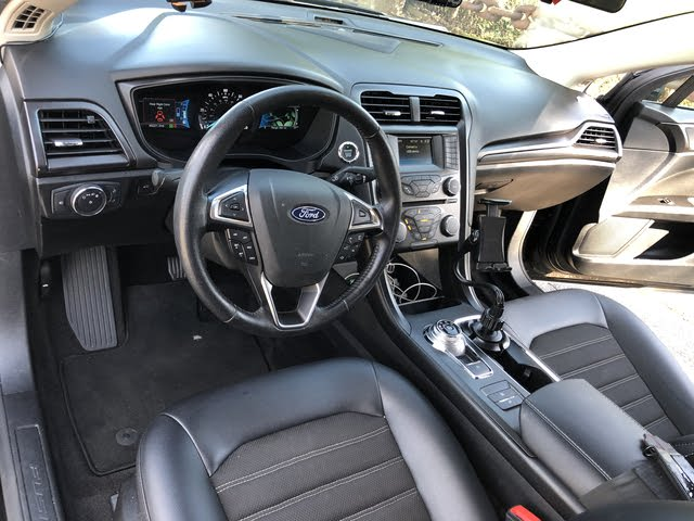 Picture of 2018 Ford Fusion Hybrid SE FWD, interior, gallery_worthy