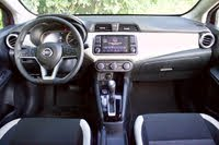 Front dash area of the 2020 Nissan Versa., interior, gallery_worthy
