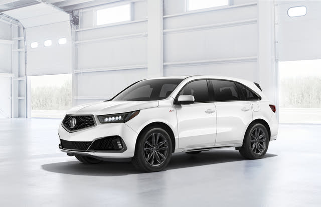 2020 Acura MDX A-Spec front-quarter view