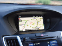 2020 Acura TLX PMC Edition SH-AWD, 2020 Acura TLX PMC Edition Navigation Map Display, interior, gallery_worthy