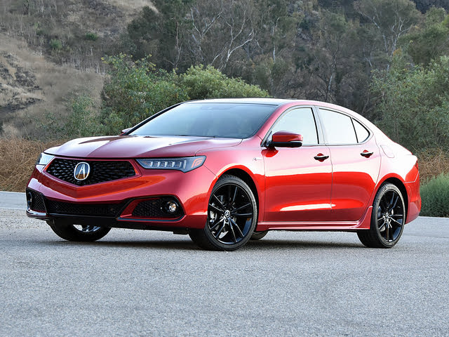 2020 Acura TLX PMC Edition Front Quarter View Shadows
