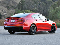 2020 Acura TLX PMC Edition SH-AWD, 2020 Acura TLX PMC Edition Rear Quarter View Shadows, exterior, gallery_worthy