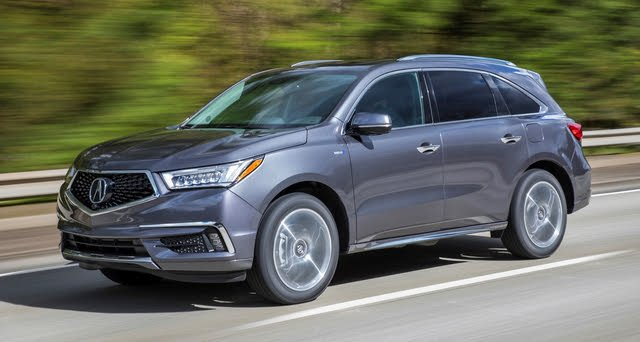 2020 Acura Mdx Hybrid Sport Overview Cargurus