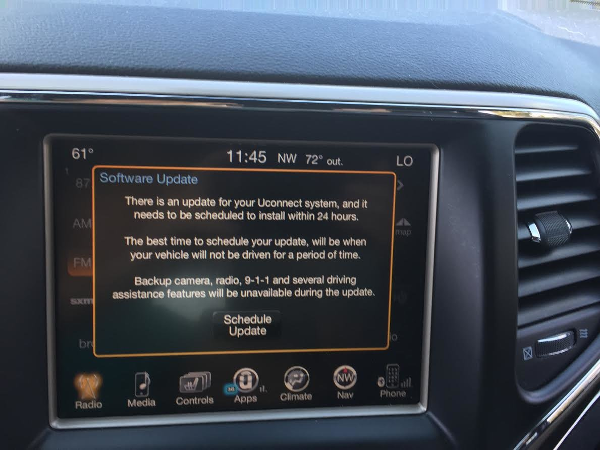 Jeep Grand Cherokee Questions - Software Update - CarGurus