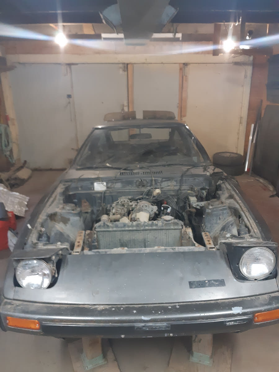 Mazda Rx 7 Questions I Have A 1980 Mazda Rx7 Gal That I Picked Up For Parts For My 79 The Cargurus