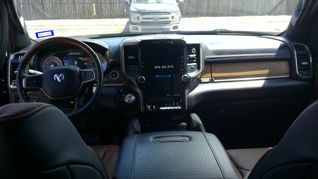 Picture of 2019 Ram 1500 Laramie Longhorn Crew Cab LB 4WD, interior, gallery_worthy