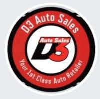 D3 Auto Sales logo