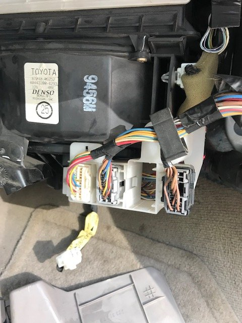 P0171 Toyota Corolla >> Toyota Camry Questions 2003 Toyota Camry Heater Blower