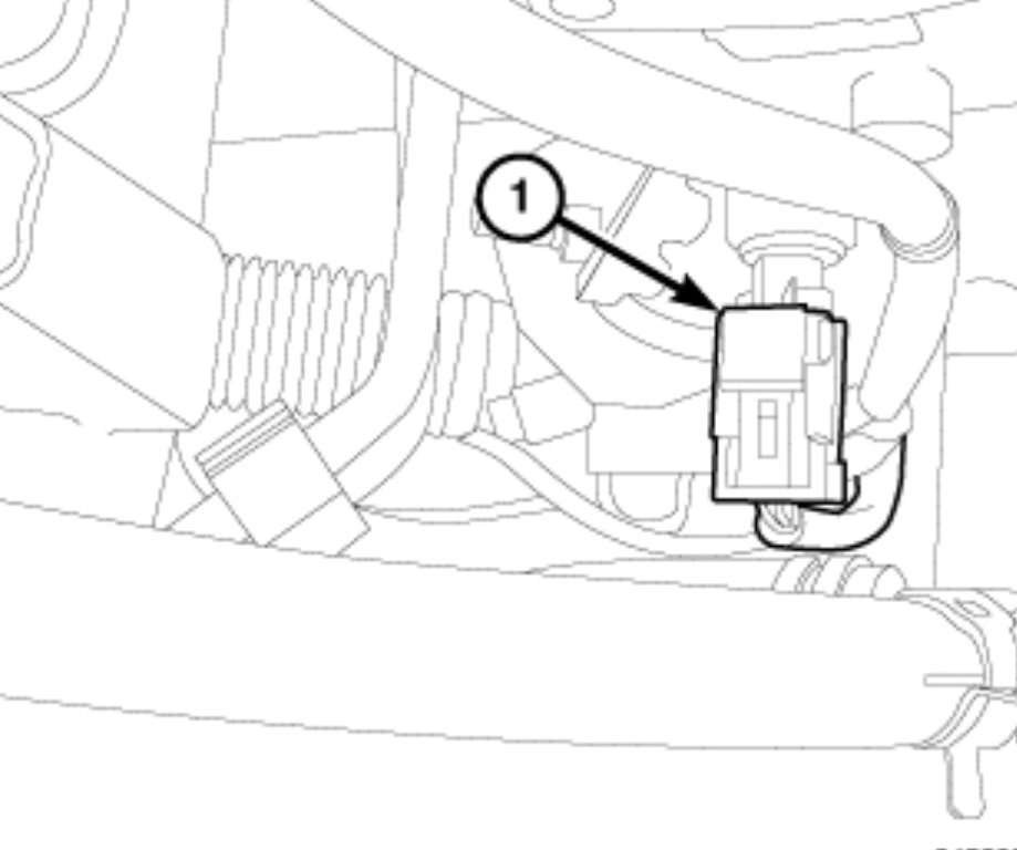 Dodge Ram 1500 Questions - Oil Sensor Location