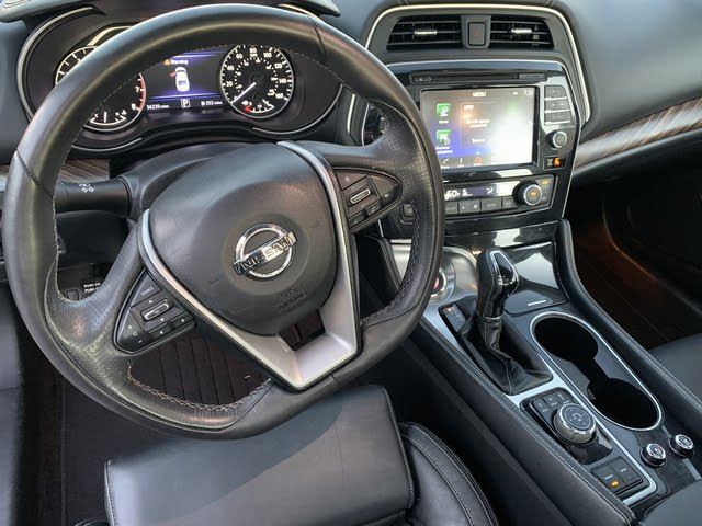 Nissan Maxima 2017 Interior >> 2017 Nissan Maxima Interior Pictures Cargurus