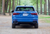 Rear profile of the 2019 Audi Q3., exterior, gallery_worthy