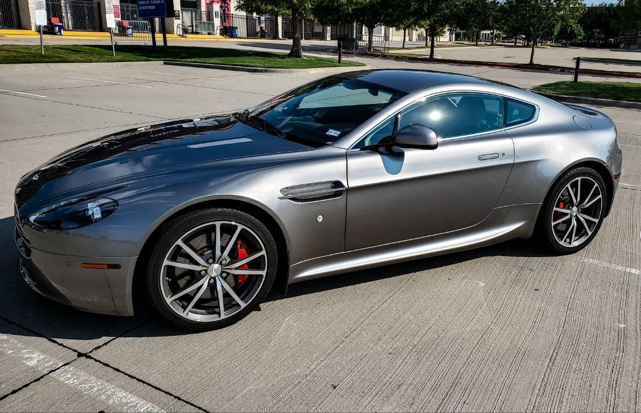 2011 Aston Martin V8 Vantage Test Drive Review Cargurus