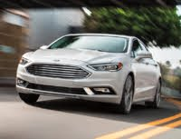2020 Ford Fusion, Ford Fusion Titanium, exterior, manufacturer, gallery_worthy