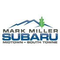 Mark Miller Subaru South Towne logo